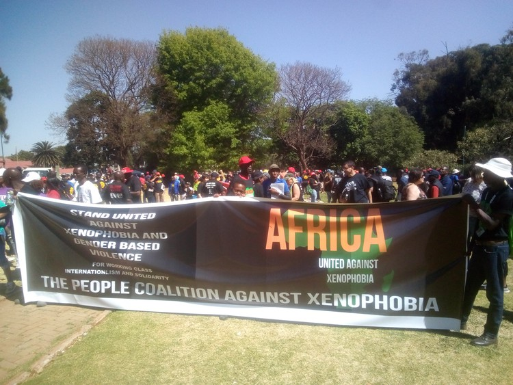 Protesters call for plan to transform Johannesburg's hostels